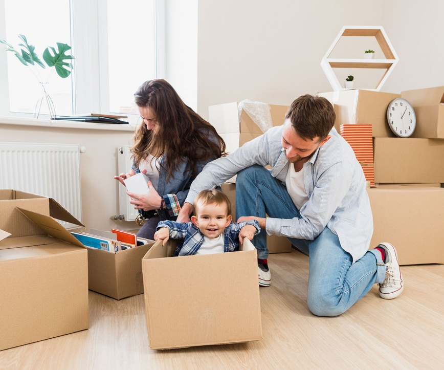 6 Tips Can Make you Feel Better for Moving House