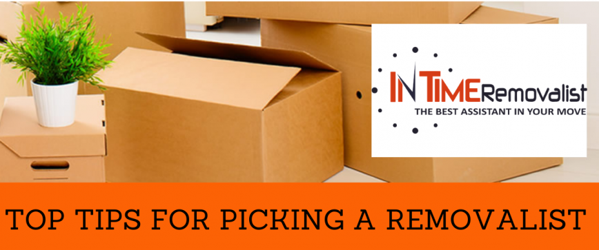 top tips for picking a removalist